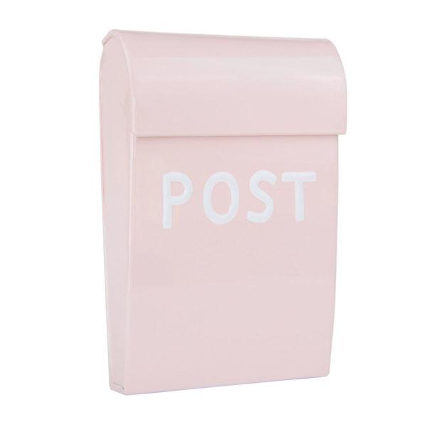 Briefkasten Kinder rosa metall, für Kinderzimmer oder Spielhaus