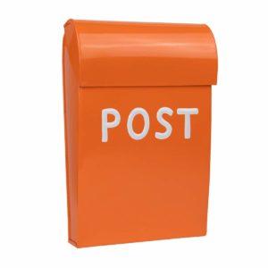 Briefkasten für das Kinderzimmer oder Kinderspielhaus in orange
