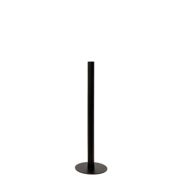 Storefactory Ekeberga Kerzenhalter, Bodenkerzenständer schwarz 40 cm
