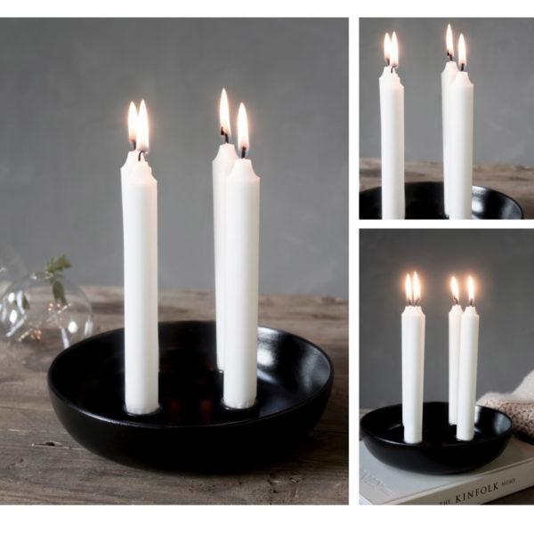 Storefactory Granholmen, ähnlich Lidatorp mit vier Kerzen