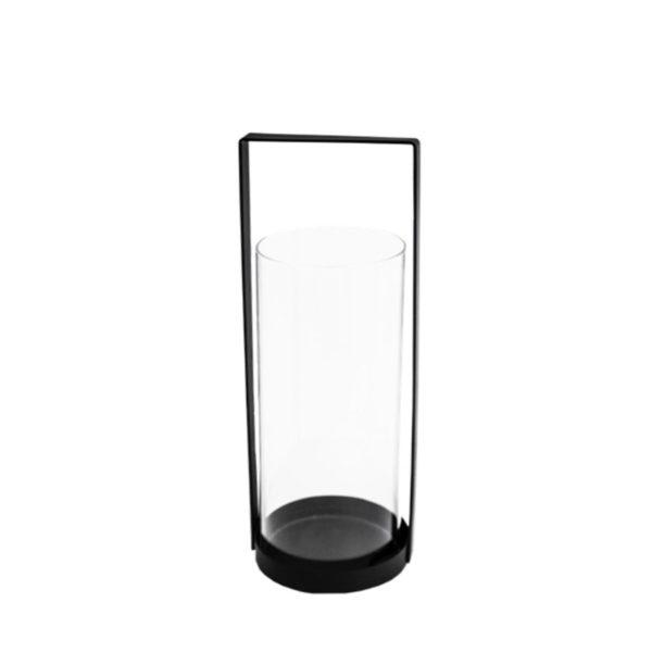Storefactory Windlicht Kvarnvik, 32 cm schwarz