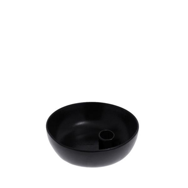 Lidatorp schwarz glänzend Größe S 15 cm
