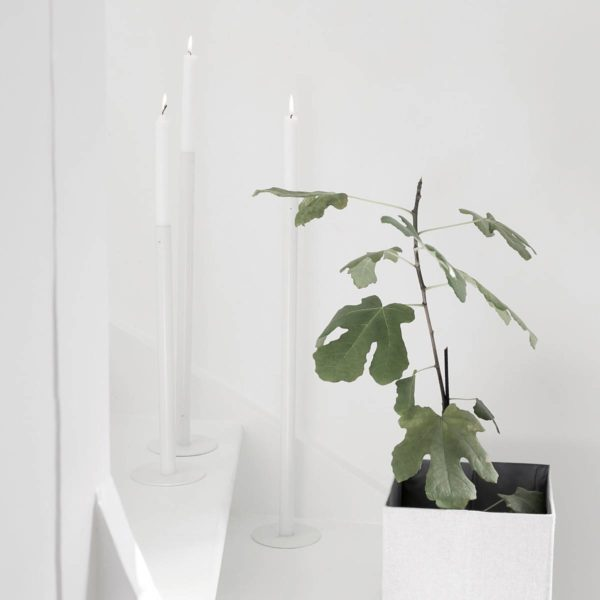 Ekeberga Kerzenhalter weiß Storefactory