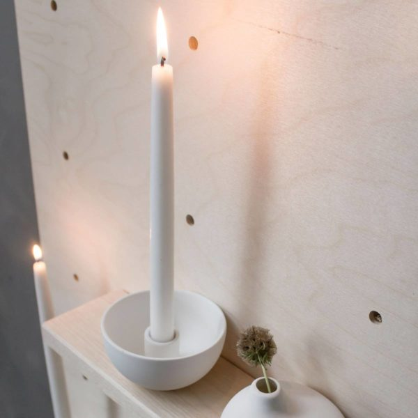 Lidatorp mini weiß Kerzenhalter von Storefactory