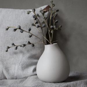 Storefactory Kalla Vase hellgrau 302165
