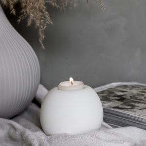 Storefactory Kerzenhalter Teelicht Sandvik weiß 202149