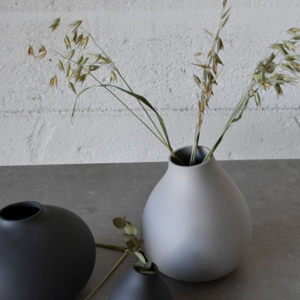 Storefactory Vase Källa hellgrau