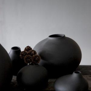 Storefactory Vase Kalla 302144 anthrazit