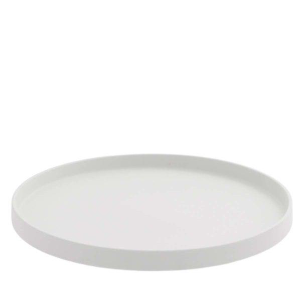 Storefactory Grimshult Platte Tablett weiß
