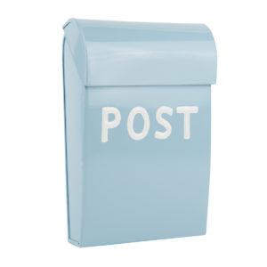 Bruka Design Briefkasten Mini für Kinder hellblau