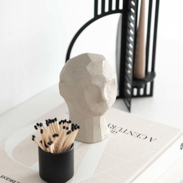 Cooee Skulptur Kopf Olufemi